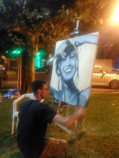 Live Painting dans le cadre du festival Jazz in Aiaccu