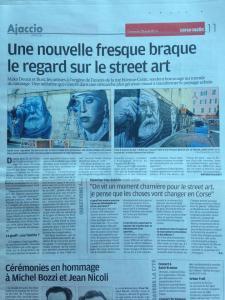 Article Corse Matin
