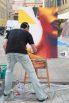 Art in Ajaccio Street Art Live painting Mako Deuza