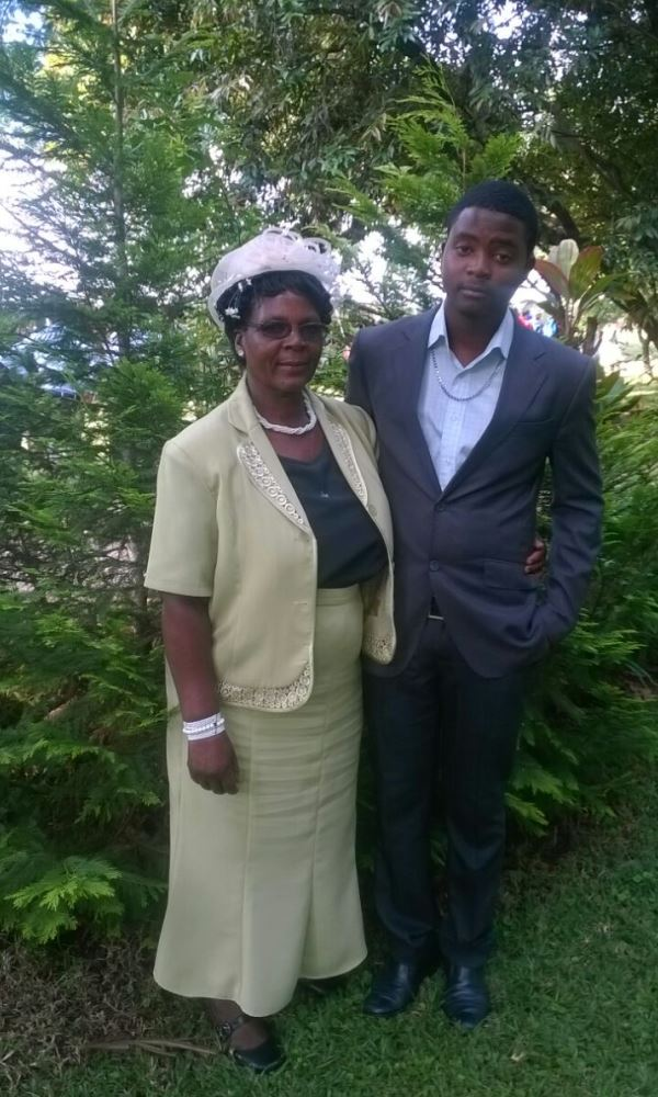 Clive and his grandmother