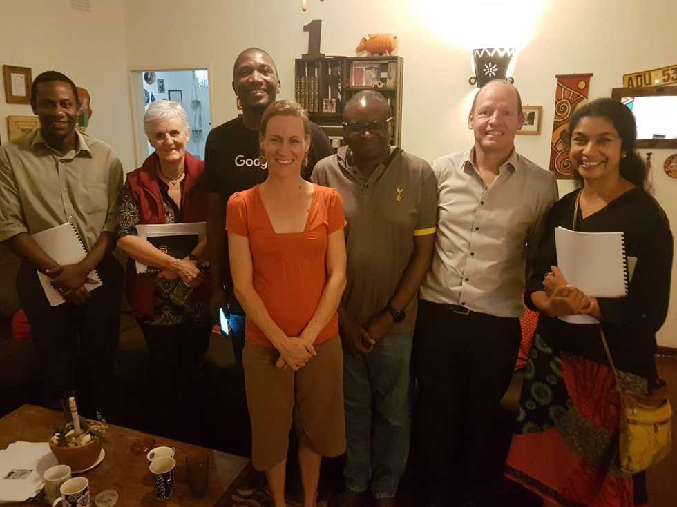 Meeting with Zimbabwe board
