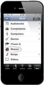 iTunes Home Sharing iPhone 02