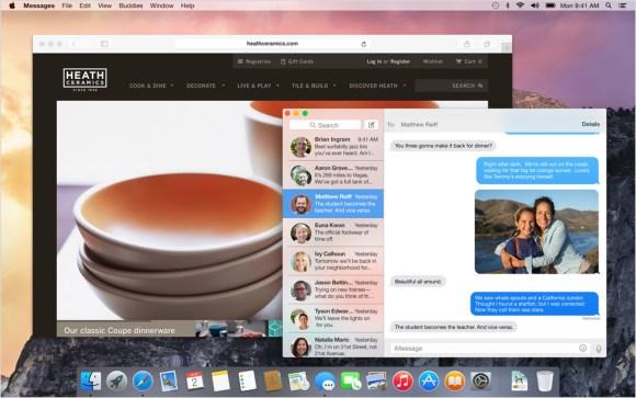 Nuevo diseño de OS X Yosemite