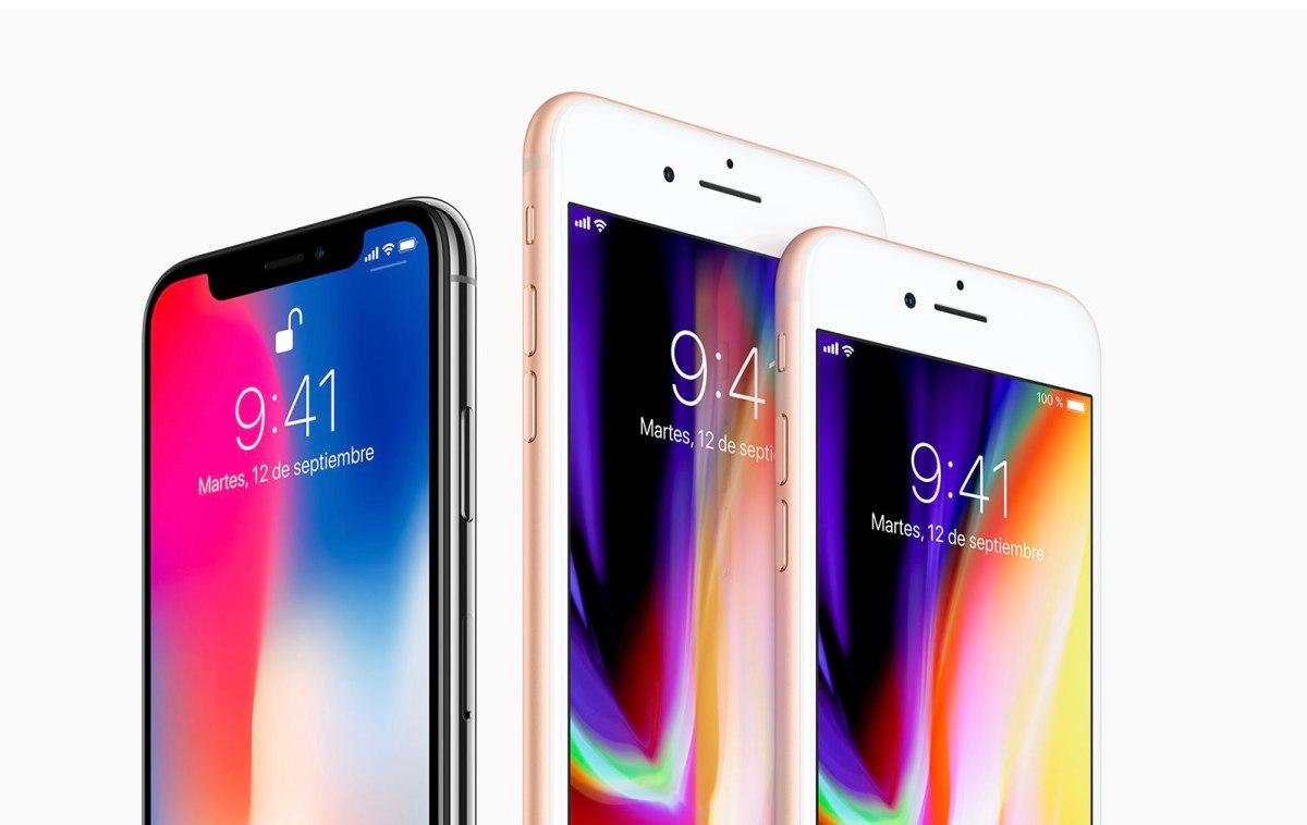 Comparativa entre iPhones