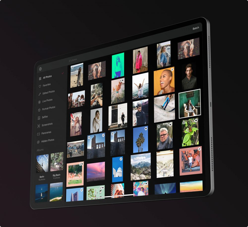 Darkroom para iPad