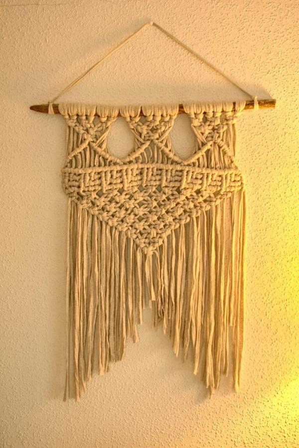 Tapiz estilo boho para decoración