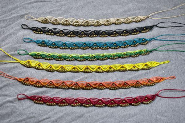 Tobilleras de colores