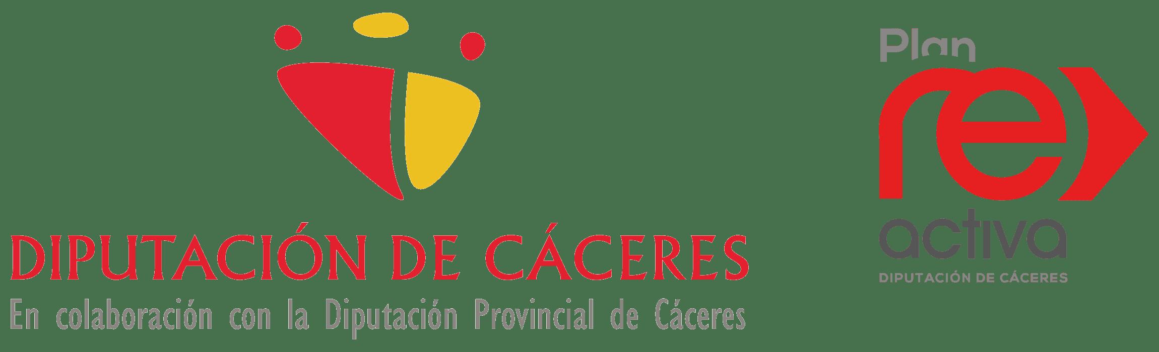 Logotipo diputacion Caceres