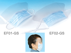 EF01-GS/EF02-GS Face Mask with Anti Fog Shield