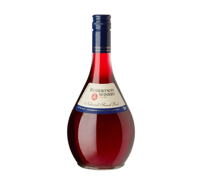 Robertson Natural Sweet Red (1 x 750ml) | Blended Red Wine ...