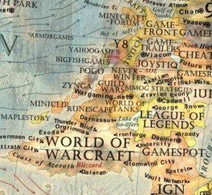 10 Dünya İnternet Haritası 1.0