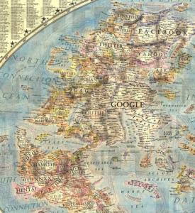 1 Dünya İnternet Haritası 1.0