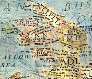 14 Dünya İnternet Haritası 1.0