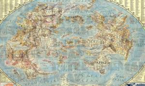 19 Dünya İnternet Haritası 1.0