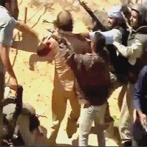 iste-kaddafi-nin-yakalanma-ani- Kaddafi ve Libya