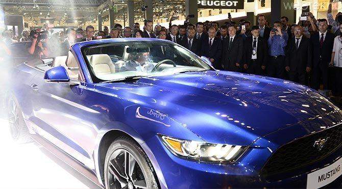 Auto-Show-2015-Fuari-Ford-Mustang Auto Show 2015 Fuarı'nda,göz alıcı modeller!