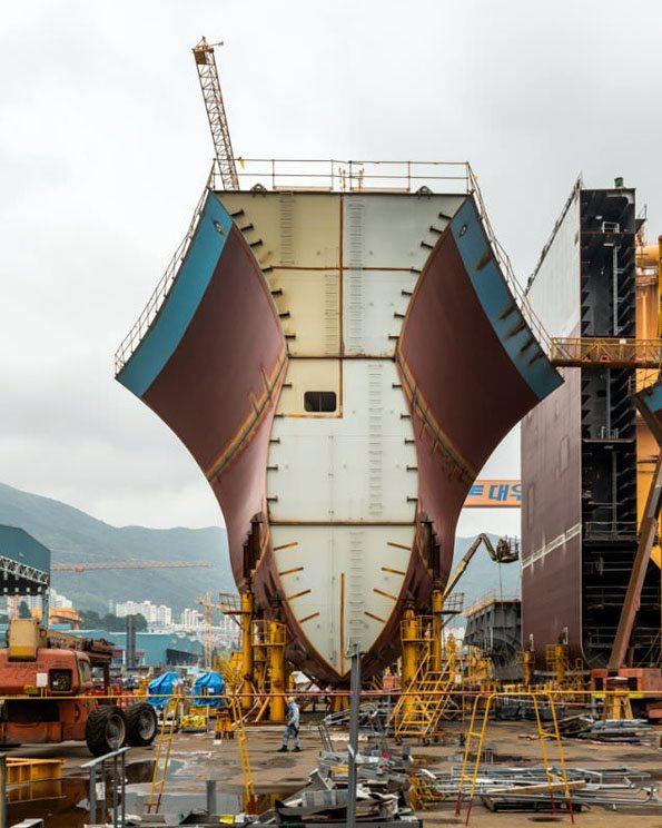 dunyanin-en-buyuk-kargo-gemisi-3 Şimdiye Kadar ki en büyük kargo gemisi