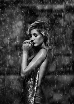 Ellie Goulding rain shoot by Pip