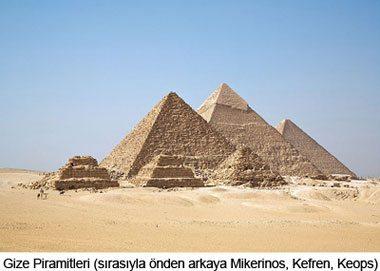 Gize_Piramitleri Mısır Piramitlerinin Sırrı Nedir?