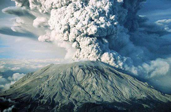 Saint-Helens Dünyadaki En Ünlü Volkanlar