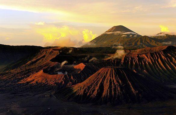 bromo-dagi Dünyadaki En Ünlü Volkanlar