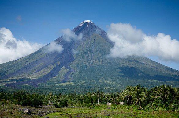 mayon-dagi Dünyadaki En Ünlü Volkanlar