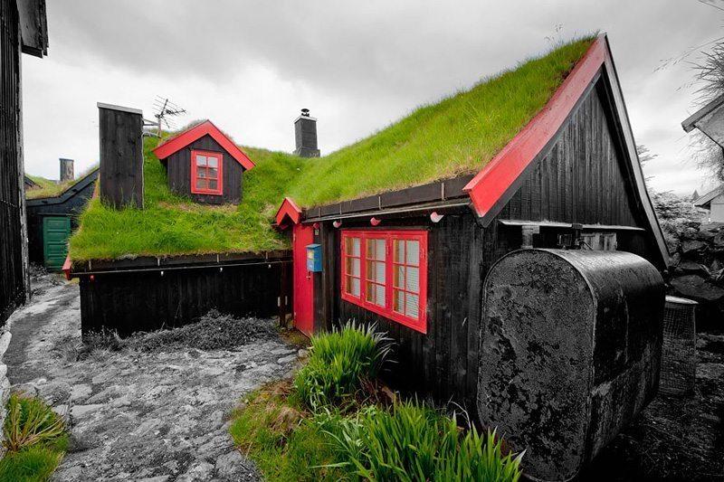 Torshavn,-Faroe-Adaları Çatısında Doğa Barındıran Evlerin Diyarı!
