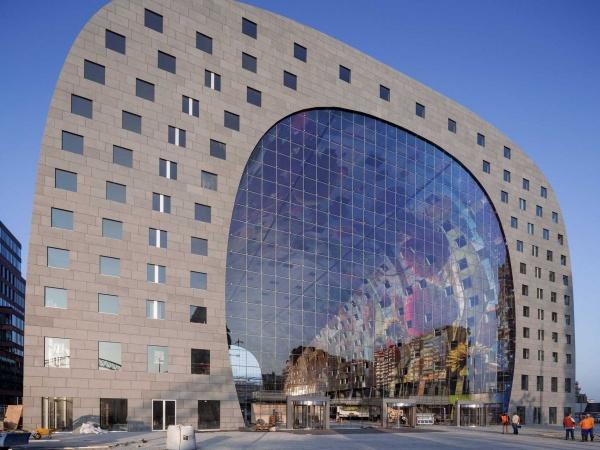 markthal-rotterdam1 Dünya'daki En İlginç 25 Mimari