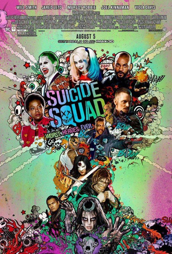 Suicide Squad 2016 Yılında Vizyona Giren Filmler
