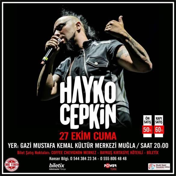 Hayko Cepkin Muğla Konseri 2017