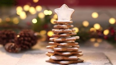 yilbasi kurabiyesi tarifi 4 - Ağaç Şeklinde Yılbaşı Kurabiyesi Tarifi