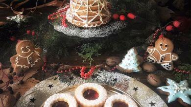 yilbasi kurabiyesi - Yılbaşı Kurabiyesi Linzer Kurabiye Tarifi