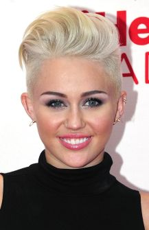 2012 iHeartRadio Music Festival - Day 1 - Press Room Miley Cyrus