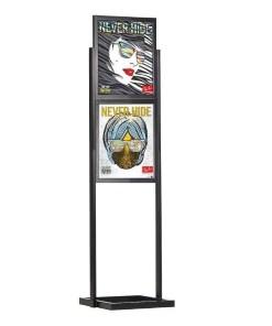 Çift Katlı Eko Poster Pano 500mm x 700mm