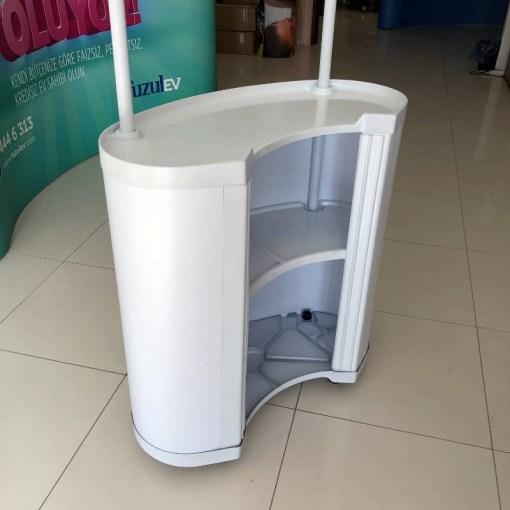 Plastik Tanıtım Standı Oval