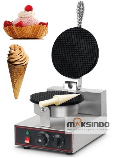 Mesin Pembuat Cone Ice Cream (Cone Baker) 2 maksindo