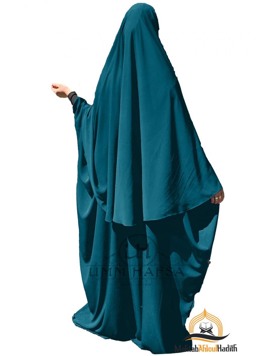 Butterfly abaya /Hijab Maryam Green by Umm Hafsa Collection