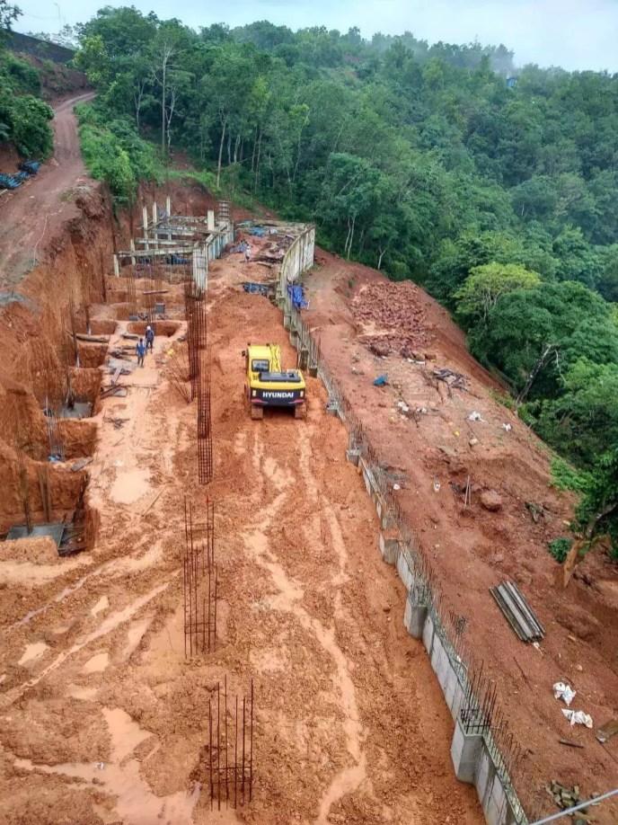 Construction Status August 2018 8
