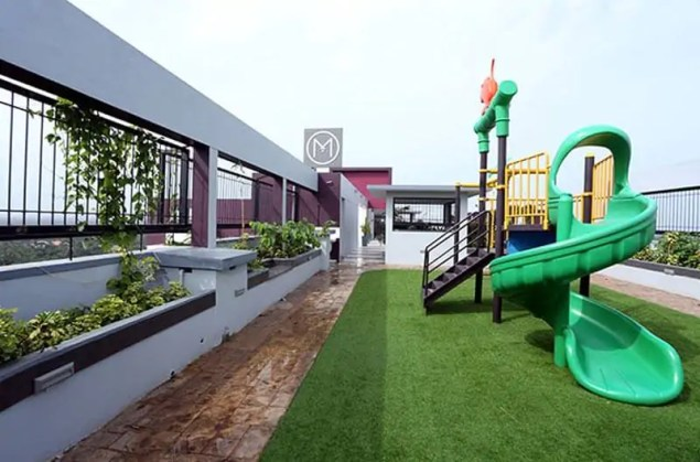 Terrace Children Play Area -- Silver Linden - Malabar Developers