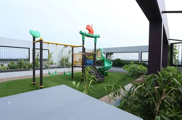 Children Play Area - Silver Linden - Malabar Developers