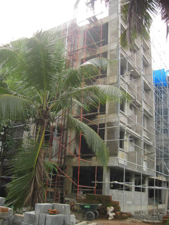 Progression Of Work - Turmeric Park Calicut