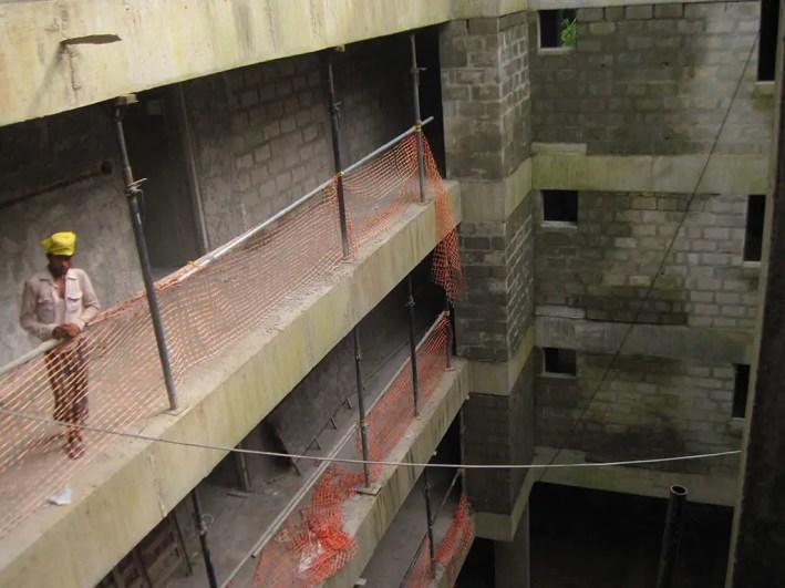 Work Progression - Turmeric Park Calicut
