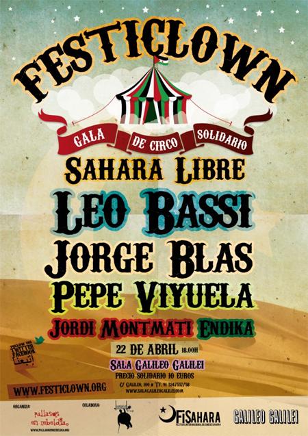 Gala de Circo por un Sahara Libre 2012  Festiclown