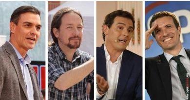 El debate a cuatro, esta noche en Canal Sur