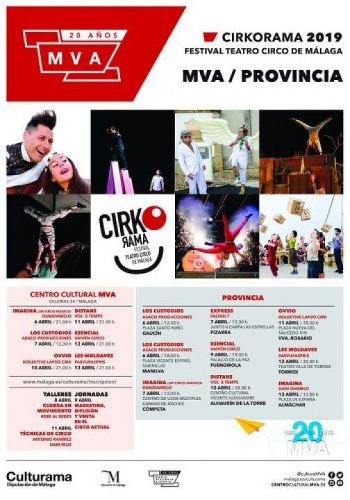 cirkorama, festival de circo