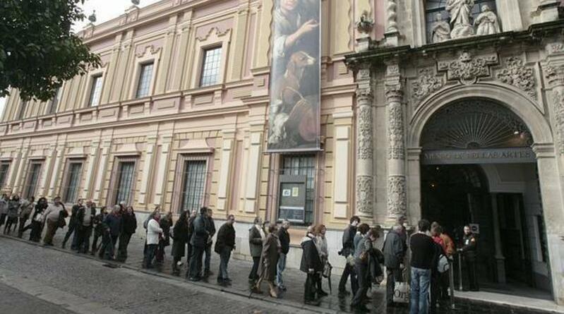museo de bellas artes de sevilla, andalucia