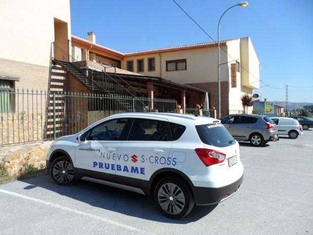 El Hotel Restaurante el Nacimiento en Deifontes es el punto de partida de esta ruta.