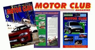 Portadas Revista Motor Club Magazine