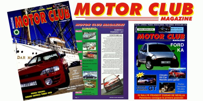 Portadas Revista Motor Club Magazine