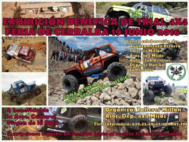 Cartel Trial 4x4 Cerralba 2016